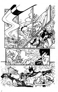 DC Comics -Justice League Unlimited - Unpublished sample pages by James Fry