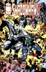 Shadowhawk - Image Comics - Character Design & Pencils by James Fry