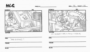 Ultimate Avengers - Lionsgate Films - Animated Feature- storyboards by James W Fry 3.0
